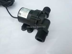 Image 1 - Bomba de circulación de agua caliente 12V 24V CC Solar bomba de agua de Motor sin escobillas elevación máxima 5,5 M