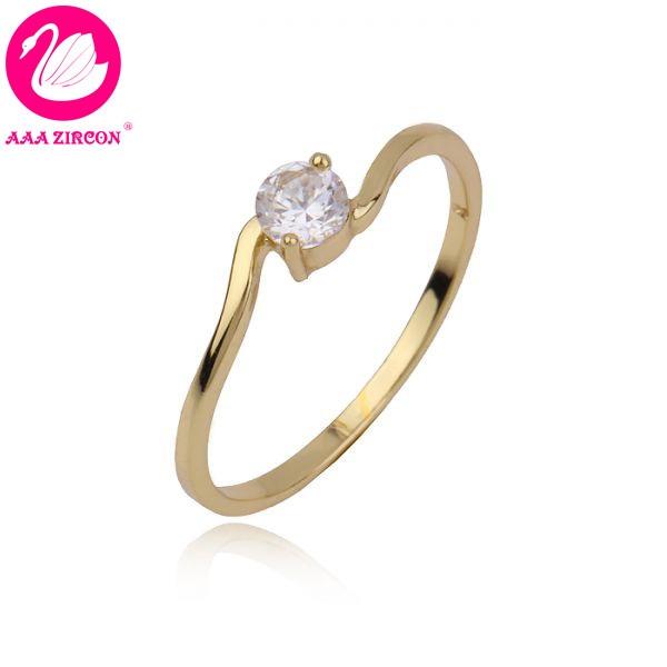 14k Real Gold Plated 2 Gs 0 4 Ct Round Brilliant Cut Grade Aaa Solitaire Cz Diamond