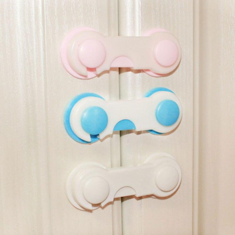 Блокирующий замок для шкафа Детская безопасность замок на холодильник замок ABS младенческой защелки ящики замок мульти-функциональный Шкаф Холодильник
