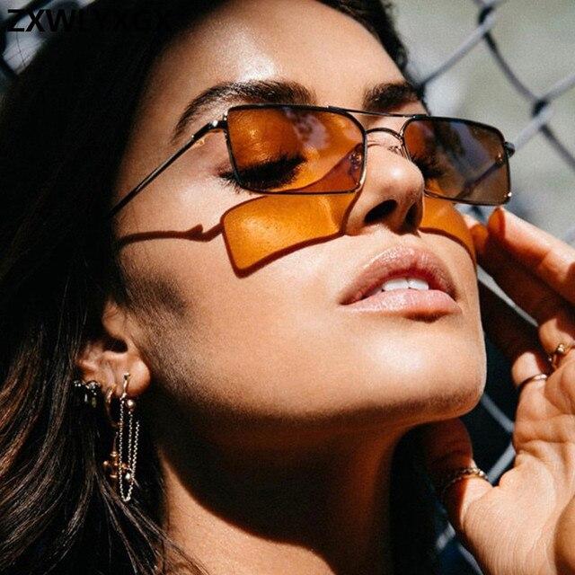 Gafas De Sol clásicas De estilo Retro para mujer, anteojos De Sol femeninos, De lujo, Steampunk, De Metal, con espejo Vintage, con UV400, 2021 4