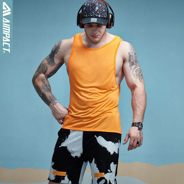 Aimpact Mens Workout Tank Tops