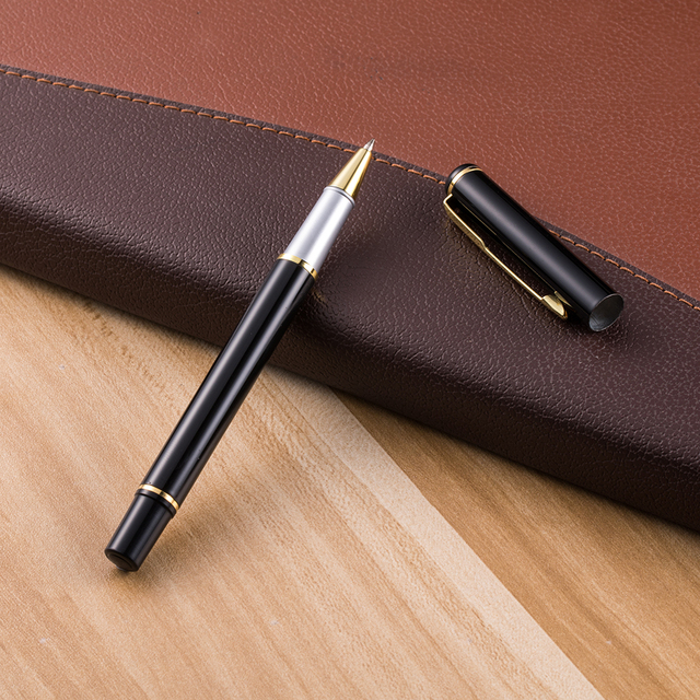 1pcs new metal ball pen signature pen gel pen school supplies office gifts business pen 2