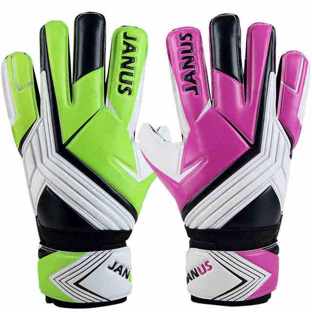 JANUS Professional Women Goalkeeper Gloves Thickened Latex Finger  Protection Soccer Goalie Gloves Football Goal keeper Gloves faa955eeca