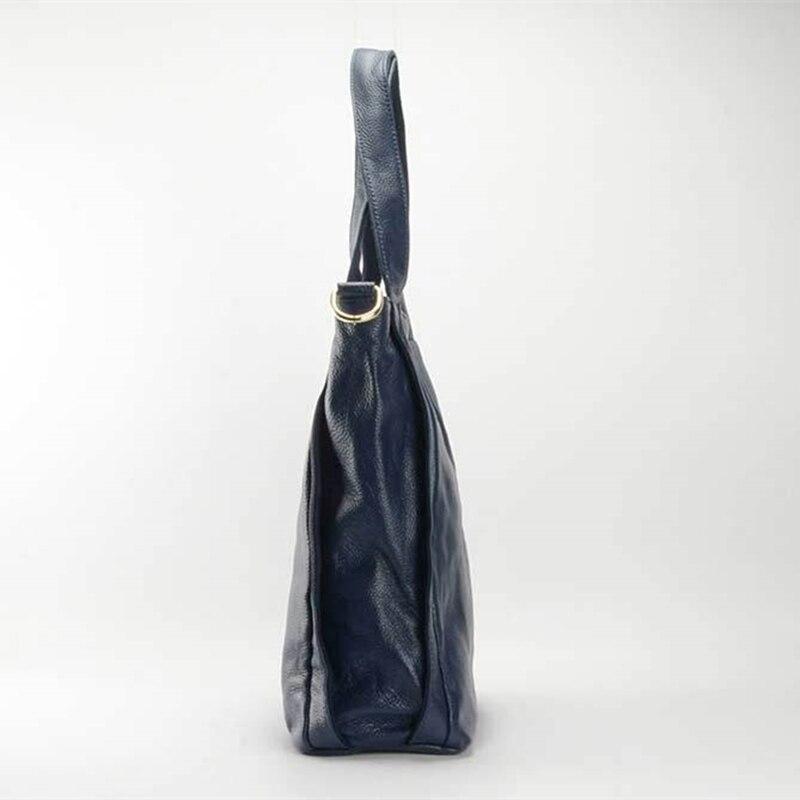 Sacs Bolsa Feminina bleu Sac À bourgogne Cuir De En Qualité Mode poignée Réel Loisirs Large Femelle Noir Femmes Luxe Haute Haut D'épaule Main rr6n1qS