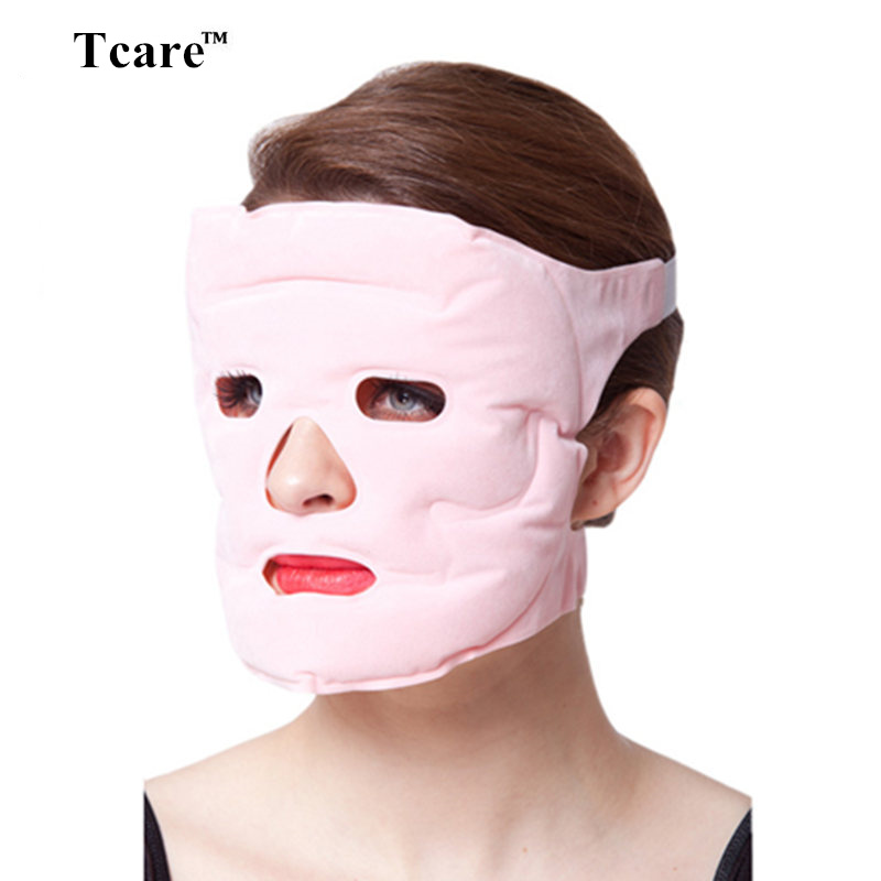 Tcare Tourmaline Magnetic Therapy Massage Face Mask Moisturizing Whitening Face-lift Mask Beauty Face Masks брызговики передние и задние кроме gt для peugeot 3008 2017