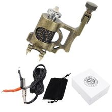 Besta Rotary Tattoo Machine For Liner and Shader Bronzy Electric 6300 r/m Machine Tattoo Body&Art free shipping tattoo gun hot sales new bishop rotary tattoo machine for shader and liner black high quality fashion tattoo machine free shipping