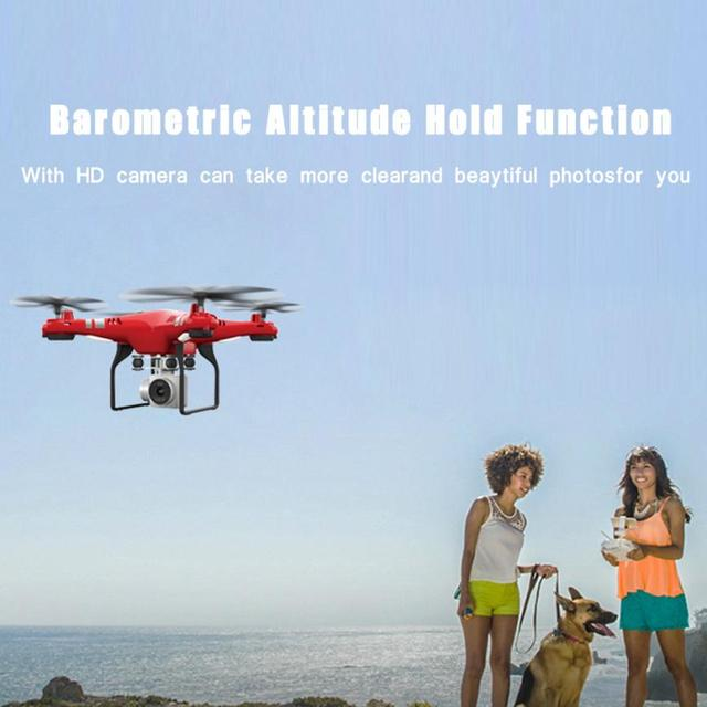 HIINST RC helicopter brushed motor 2.4G HD Camera uadcopter RC Drone 2MP WiFi FPV Live Helicopter Hover toys for children Y1124 5