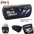 Anime Black Butler Estilo Zíper Lápis Bolsa Cosméticos Saco Da Bolsa Da Carteira