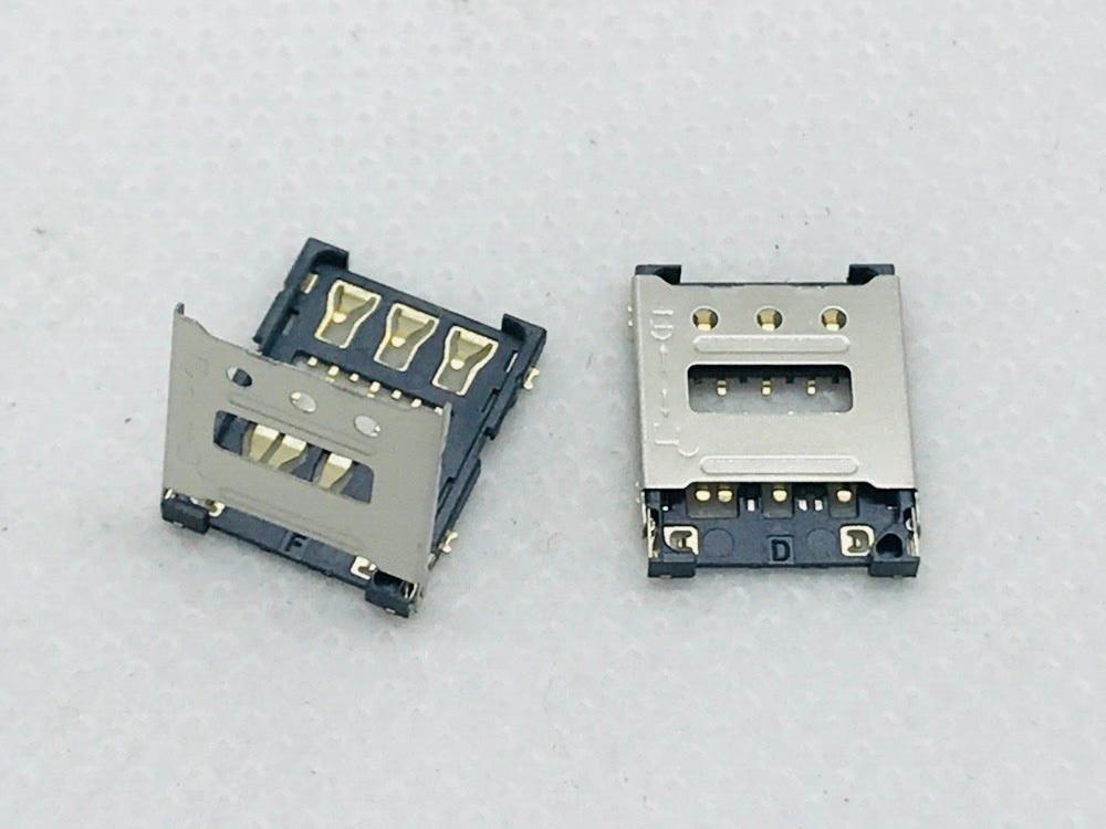 Micro Nano SIM Flip 6PIN Card Socket Child Smart Watch Connector Slot Tray Holder Adapter FFC FPC Smartphone Repair Accessory