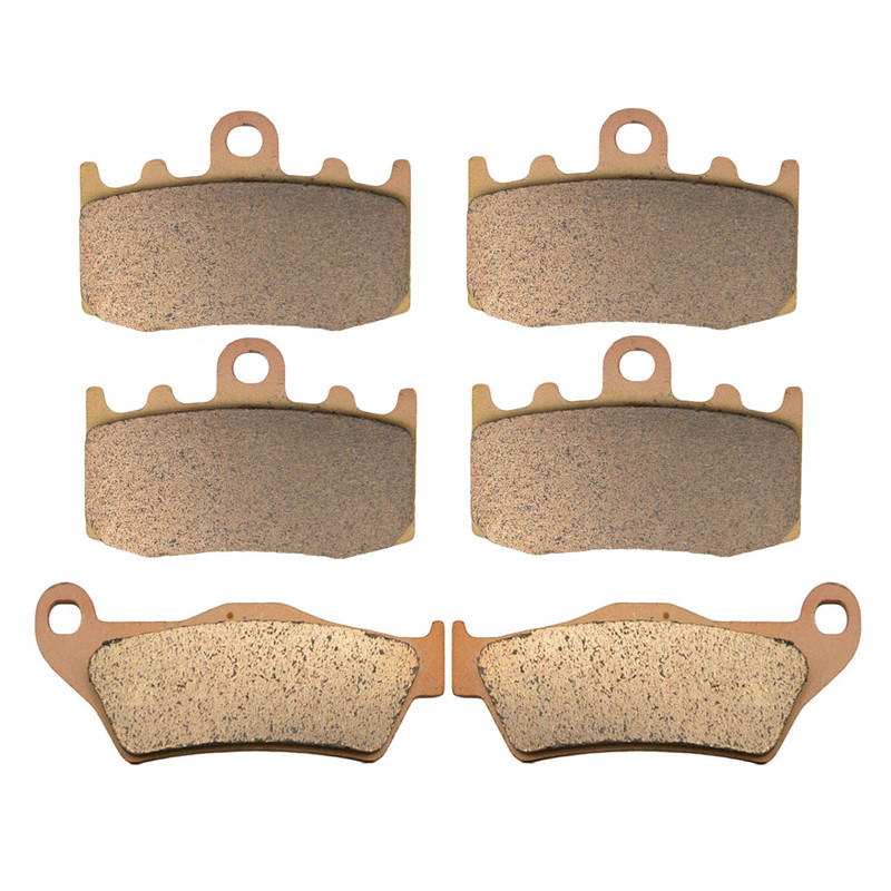 Motorcycle Parts Copper Based Sintered Front Rear Brake Pads For BMW R1200GS R 1200GS 1200 GS
