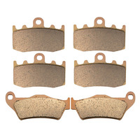 Motorcycle Parts Copper Based Sintered Motor Front Rear Brake Pads For BMW R1200GS R 1200GS 1200