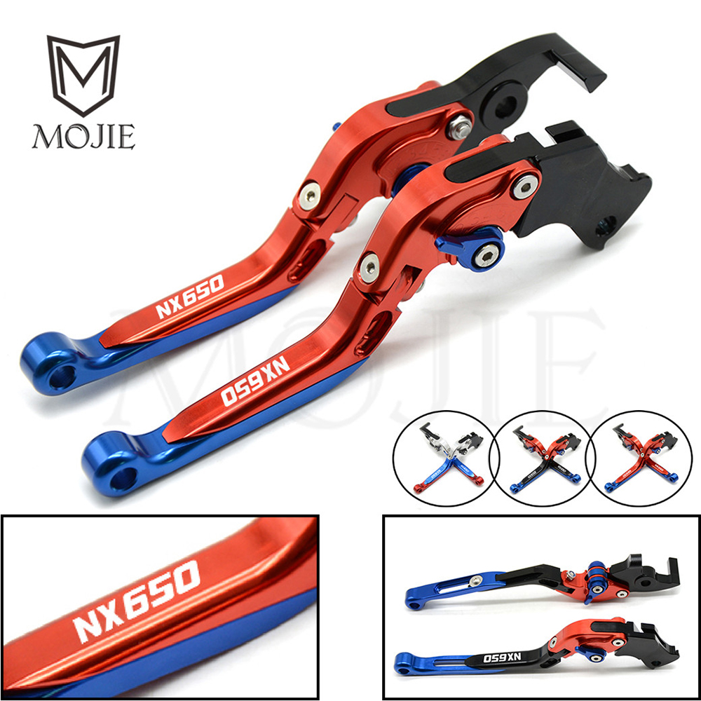 For Honda NX650 J X Dominator 1988 1999 1998 1997 1996 Motorcycle Adjustable Folding Extendable Brake