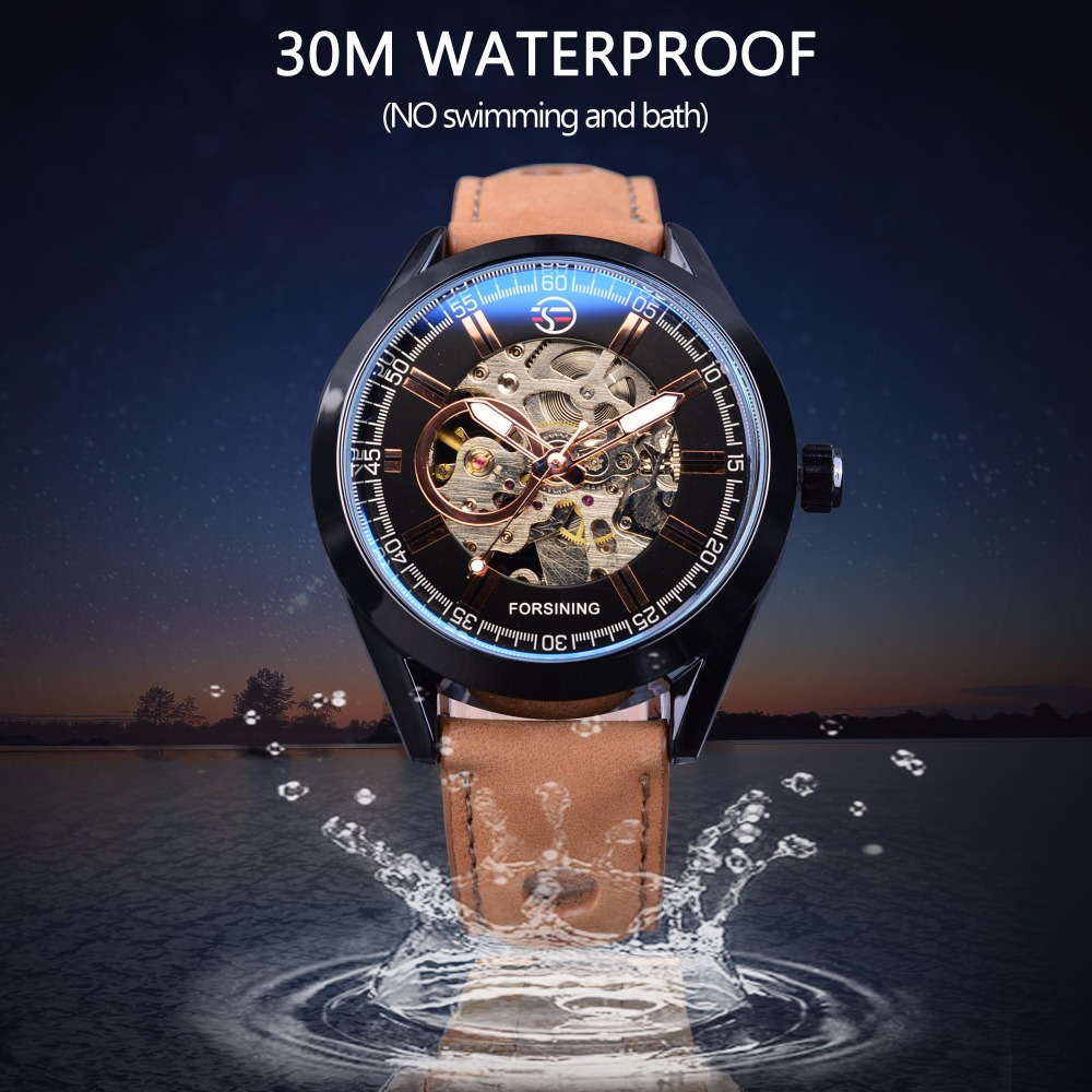 Forsining 2017 Casual Sport Series Waterproof Automatic Men Wrist ...