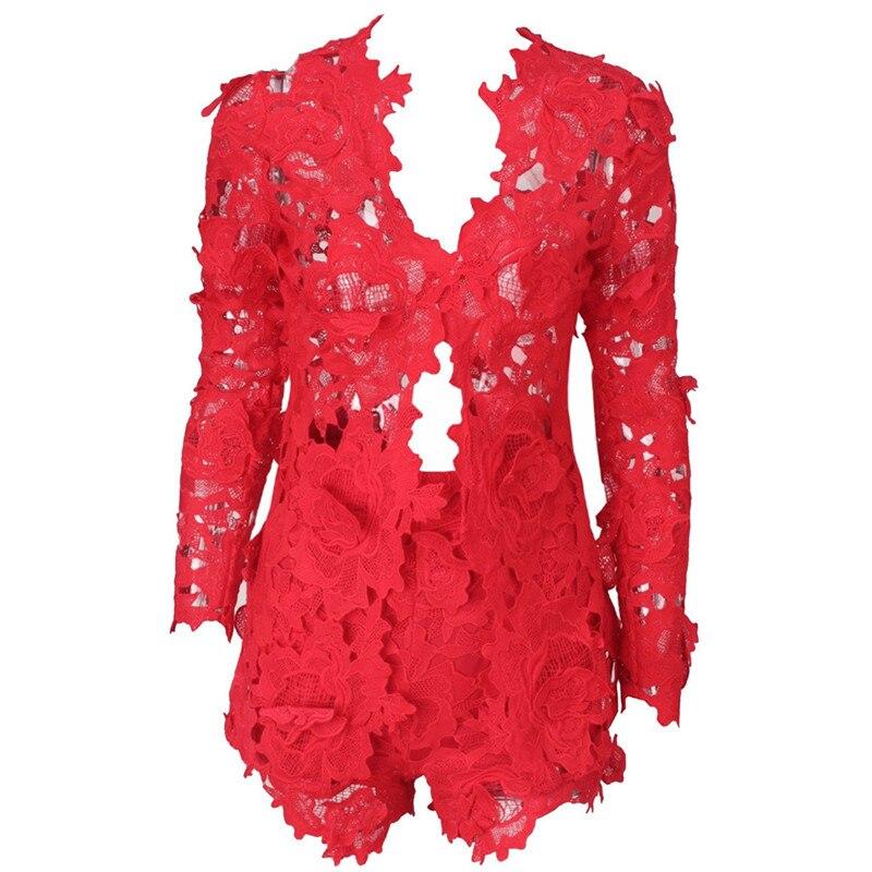 Vasaros rudens seksualios moterys dviejų dalių rinkiniai moterims - Moteriški drabužiai - Nuotrauka 6