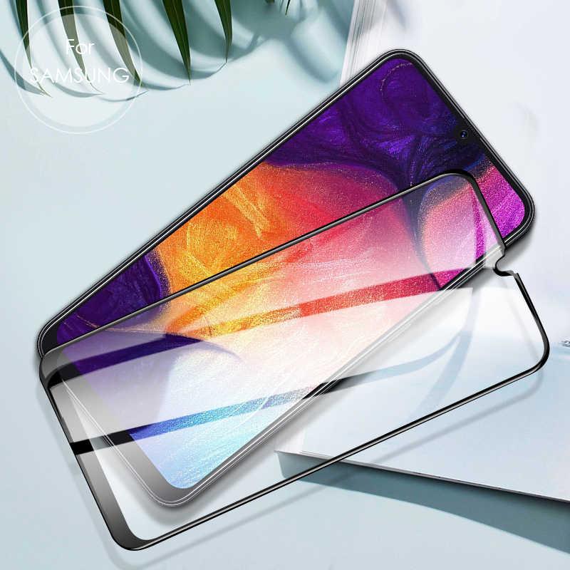 5 قطعة زجاج واقي ل samsung m30s واقي للشاشة a30 a40 a50 j8 2018 المقسى فيلم على samsung a10s a20s a50s a70s الزجاج