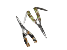 Stainless Steel Fishing Pliers Line Cutter Remove 2 in 1 Fishing Tool