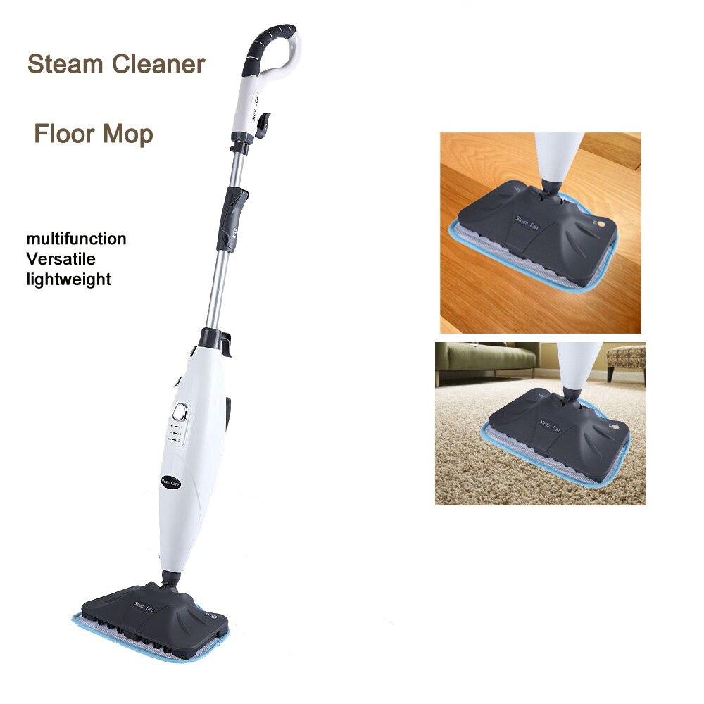 Multifunctional Steam Cleaner Floor Kitchen Carpet Handheld Steamer Mop