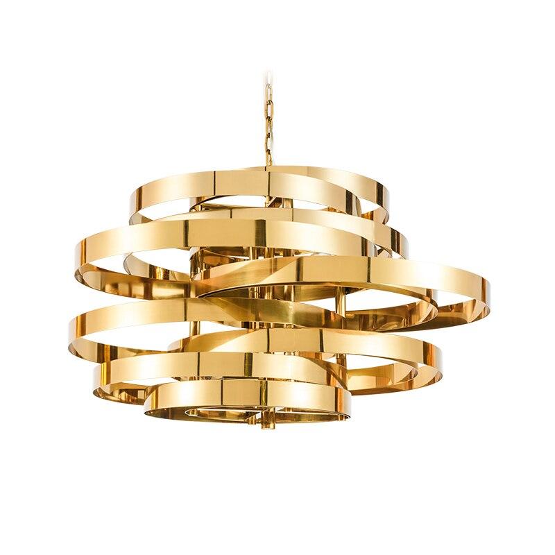 Modern Copper Ring Led Pendant Lighting 10758 Shipping: Free Shipping Modern Stainless Steel Pendant Light With