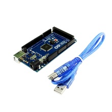 ATMEGA-16U2 Adeept Novo ATmega2560 MEGA 2560 R3 Board + Cabo USB Livre Para Arduino Freeshipping fones de ouvido diy diykit