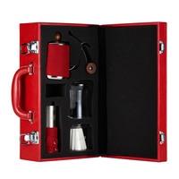 Тонкой вручную Кофе горшок комплект капельного чашка прекрасно рот горшок шлифовальный станок фильтр Бумага