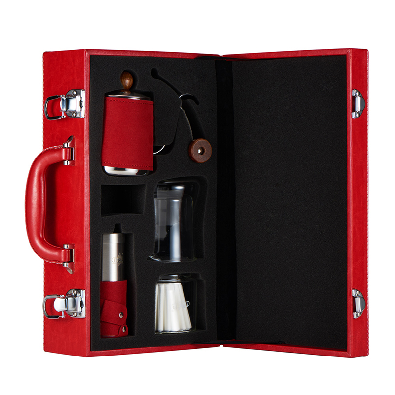 Fine Manually Coffee Pot Set Drip Cup Fine Mouth Pot Grinding Machine Filter Paper gift box set handleless pot pillar cup filter cup drip coffee maker grinder home use can send a person top grade coffee gift box