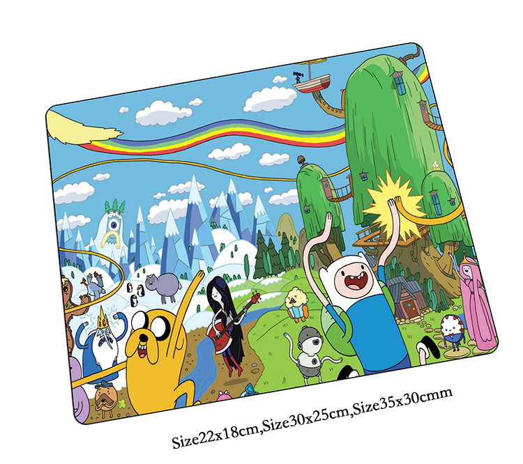 Adventure Time mouse pad Popular pad to mouse notbook computer mousepad best seller gaming padmouse gamer to laptop mouse mats