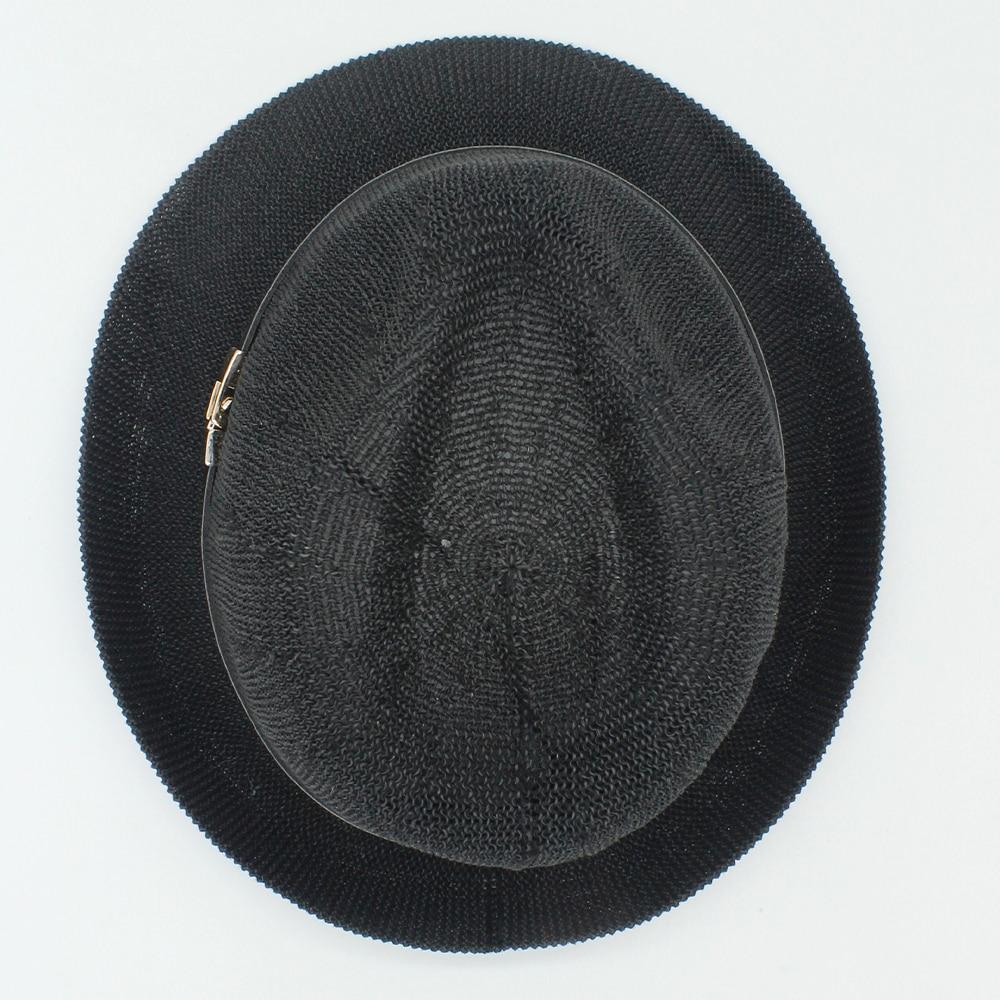 7a5714d3a7d93 2017 verano mujeres hombres Fedora paja sombrero ala corta sombrero Panamá  playa rafia Sol compras sombrero vacaciones ocio Jazz hat40 en Los hombres  de ...