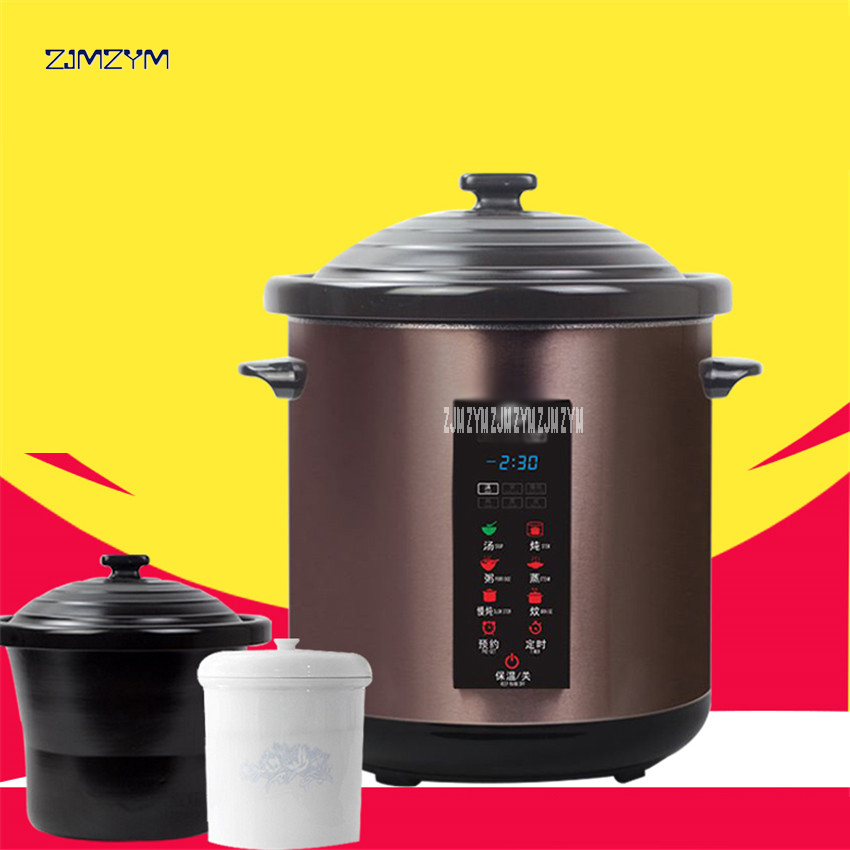 3.5L Multicooking Safty Stainless Steel ceramic liner Electric Hot Pot Cooker Multi Cooker Appliance Heating Stew Soup YDT-10B