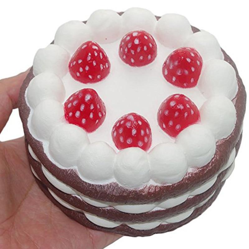 nep taart Party Decoratie Craft Speelgoed Simulatie Cake PU Kunstmatige Nep  nep taart