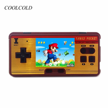 Классические карманные игровые игровые автоматы, построенные в 638 классических играх Консоль 8 бит Ретро-телевизионная видеоигра для FC Red White AV USB Game Console