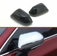 For Toyota Avalon XX50 2018 2019 2020 ABS Door Side Mirror Cover Trim Rear View Cap Overlay Molding Garnish