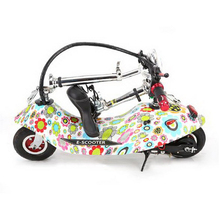 261006/Folding women mini electric car/adult electric scooter/electric bicycle/small battery car/scooter/Height adjustment