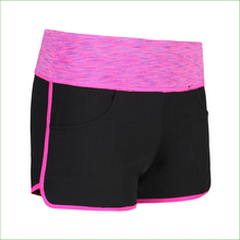 RS11 Women Sport Running Shorts Gym Woman Elastic Bottoms Fitness Jogging Female Yoga spacedye Short Pants Training Shorts