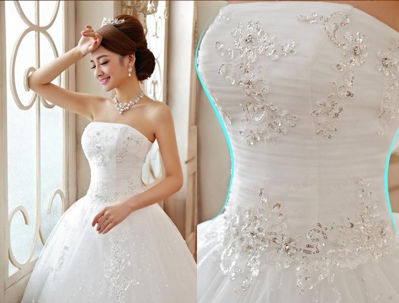 Cheap Wedding Dresses 2018 Good Quality Luxury Princess Lace ...