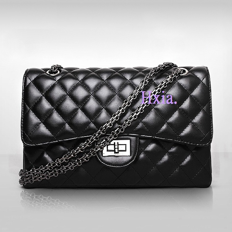 Yuhua, 2019 New Handbags, Fashion Trend Messenger Bags, Single Shoulder Retro Diamond Lattice Chain Women Bag.