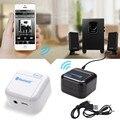 Высокое Качество Белый Мини 3.5 мм NFC Беспроводная Bluetooth Стерео Аудио Передатчик A2DP Музыка Аудио Приемник Адаптер NewFree Доставка