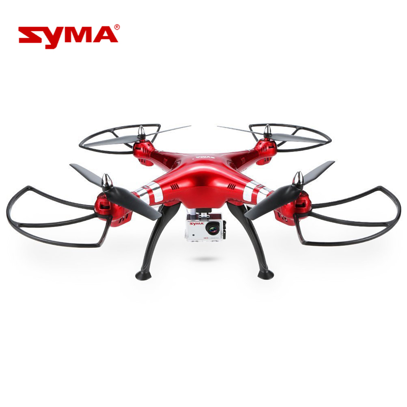 UAV Toys Syma X8HG 8MP Camera 2.4GHz 4CH 6 Axis Gyro RC Quadcopter Barometer Set Height Drone with Professional Camera jxd 510g 5 8g rc quadcopters fpv 2 0mp camera 2 4ghz 4ch 6 axis gyro rc quadcopter barometer set height rc drones