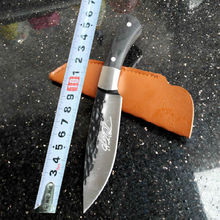 Manual Forging Browning Survival Knife Fixed Blade Knife  Hunting Knifes Tactical Camping Knives Outdoor Tools KN232