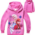 Autumn new cartoon hooded fleece of the girls Fleece jackets