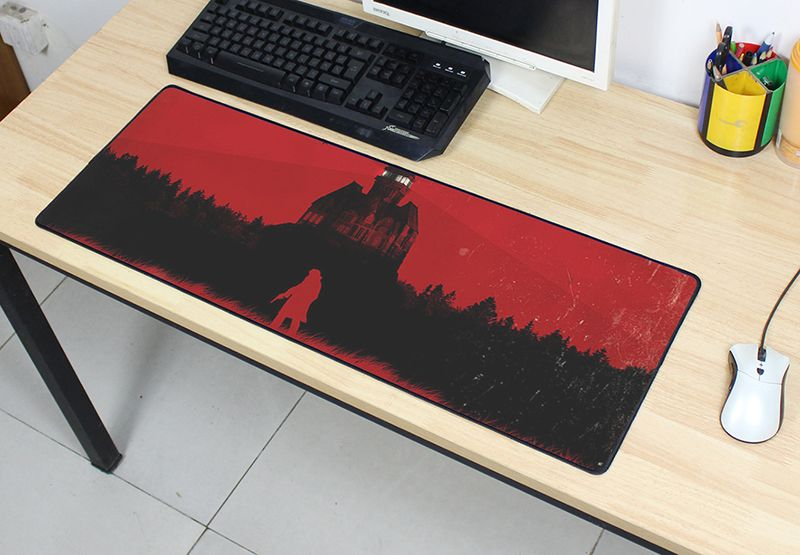 The evil within 2 mouse pad pad to mouse notbook computer mousepad cheap gaming padmouse gamer to laptop 800x300x3mm mouse mats image