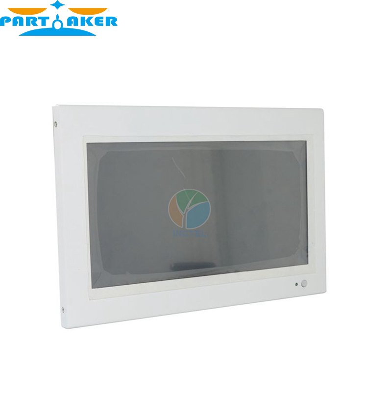 Partaker White LED computer Touch screen All in one pc with White Color 1037u processor Windows