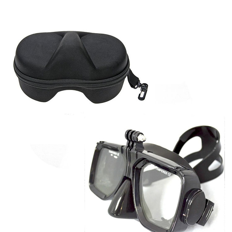 For Gopro waterproof Accessories Underwater Glass Diving Mask for Go Pro Hero font b camera b