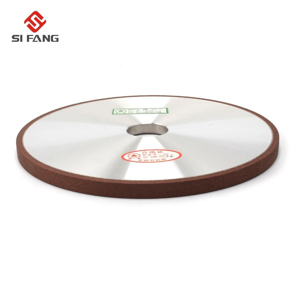 Disque de meulage de meule de diamant de 200mm pour la meule d'affûtage de meule outils abrasifs rotatifs 100/120/150/180 grain - 3