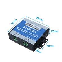 военный RTU5024 GSM Gate Opener Реле дистанционного управления доступом Беспроводной открыватель