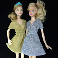 Genuine fashion mini doll skirt dress sets girls toys gifts casual wear