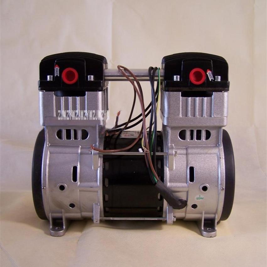 High-quality Piston Type Vacuum Machine Large Flow 1000W Mini Silent Air Compressor Oil-free Vacuum Pump 110V/220V/380V Hot Sale