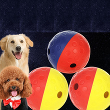 HOOPET Pets Dog Tumbler Leakage Food Toy Ball Puppy Training Exercise Fun Two Colors