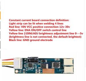 Image 5 - Ücretsiz teslimat. Ürün 15 ila 24 inç evrensel LCD LED ışıkları değişiyor LCD LED yükseltme kiti ayarlanabilir parlaklık 540 mm
