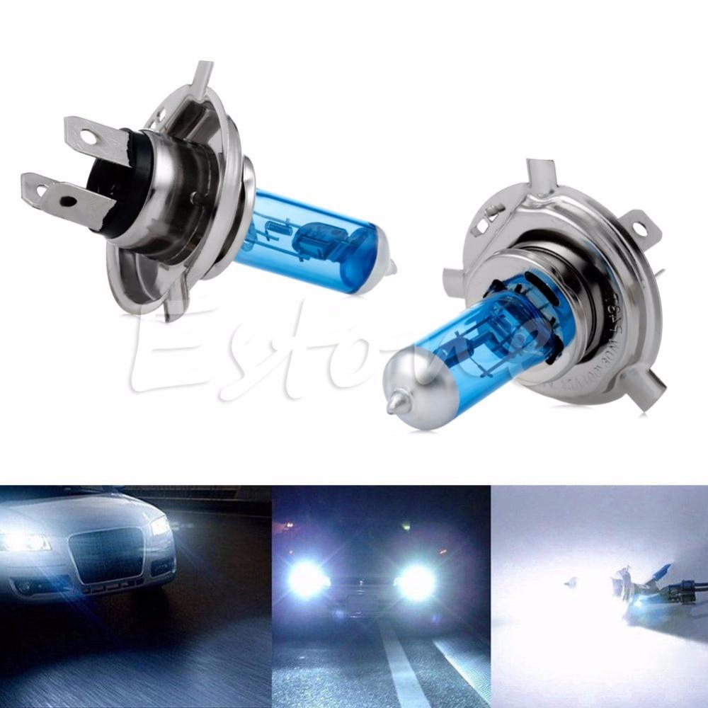 Hot Selling 2 x Car Auto H4 HID Xenon Super White Headlight 12V 100W Halogen Bulb Lamp Light jun22 датчик lifan auto lifan 2