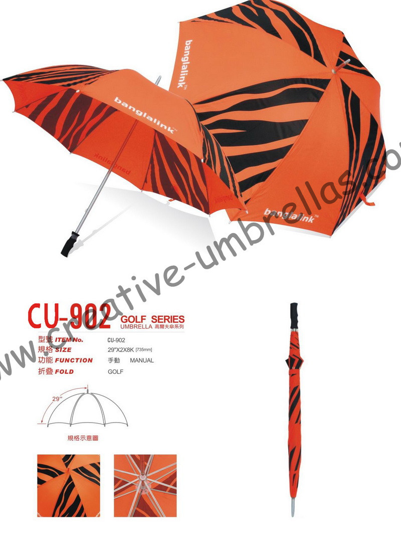 Free shipping by sea,14mm metal shaft and double fluted ribs,hand open golf umbrella,anti-rust,advertising umbrella